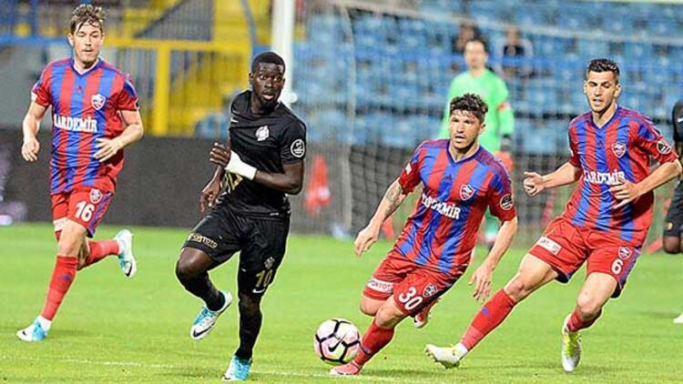Karabükspor, Osmanlıspor'u penaltıyla devirdi