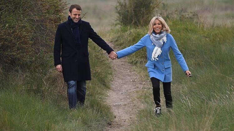 Fransa'nın yeni Cumhurbaşkanı eşinin 25 yaş büyük olmasıyla ilgili ilk kez konuştu