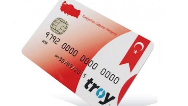 Türkiye'nin Ödeme Yöntemi TROY cüzdanlarda