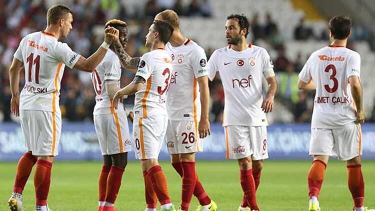Galatasaray'dan Antep'te kritik galibiyet