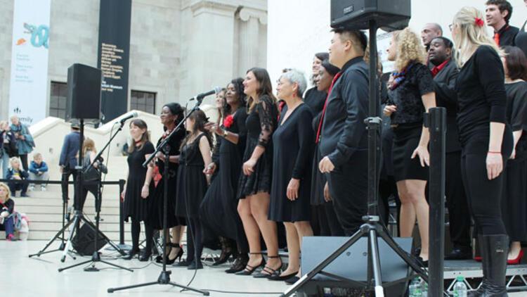 Dinlerarası Müzik Festivali, British Museum'da yapıldı
