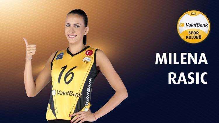 VakıfBank Milena Rasic'le devam ediyor