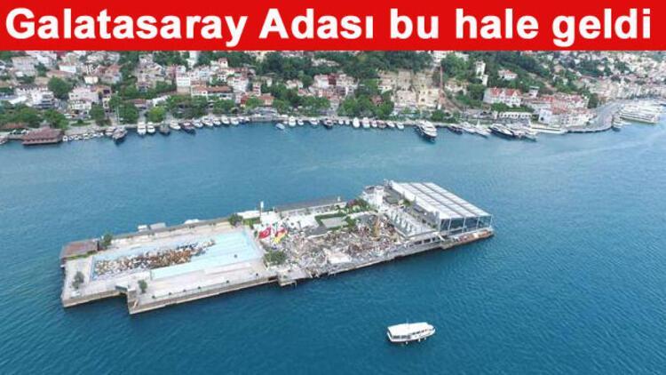 Son dakika... Galatasaray Adası'nda yıkım... Galatasaray'dan ilk açıklama