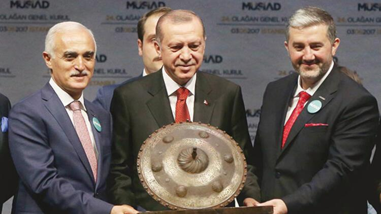 Erdoğan'dan iş adamlarına 4 çağrı