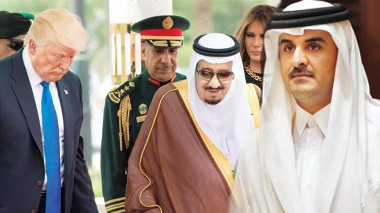Trump'tan Katar mesajı: Ziyaretim  işe yaradı