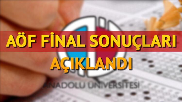 AÖF sınav sonuçları Anadolu Üniversitesi tarafından açıklandı! AÖF 3 ders sınavları ne zaman yapılacak?