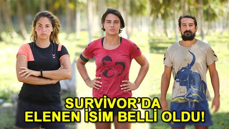 Survivor 2017de kim elendi İşte survivorda adaya veda eden isim
