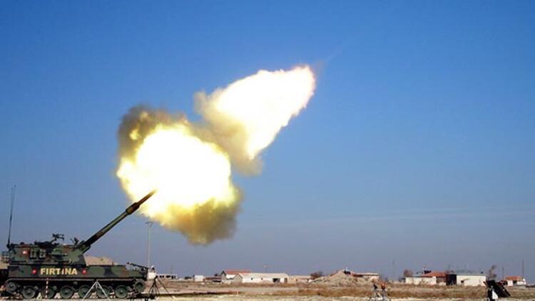 Son dakika... Türkiye Afrin'de terör örgütü YPG'yi bombaladı
