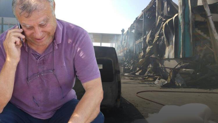 Çerkezköy'de büyük yangın
