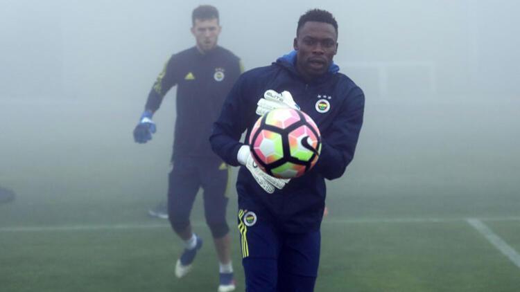 Kameni Fenerbahçe'de ilk idmanına çıktı