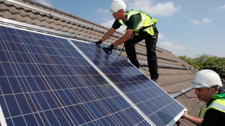 Çatılara güneş enerjisi geliyor