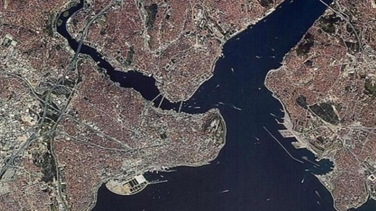 Yerli uydu RASAT İstanbul'u görüntüledi