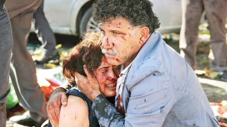 Ankara Gar katliamında garip ifade