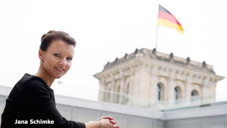 Alman erkeklerine göre en çekici Jana Schimke