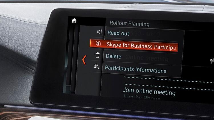 BMW otomobillerde Skype dönemi başlıyor