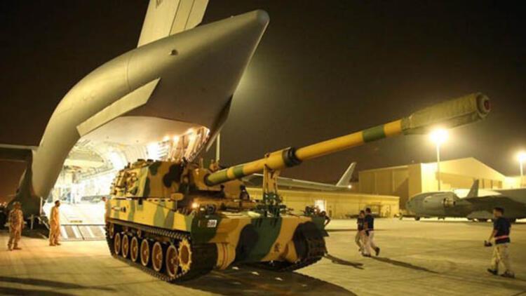 Türkiye'den Katar'a üçüncü askeri sevkiyat