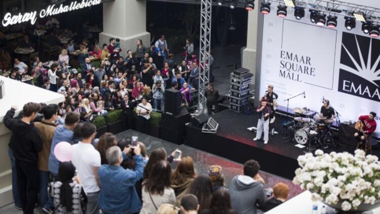 Emaar Square Mall'da sımsıcak yaz konserleri