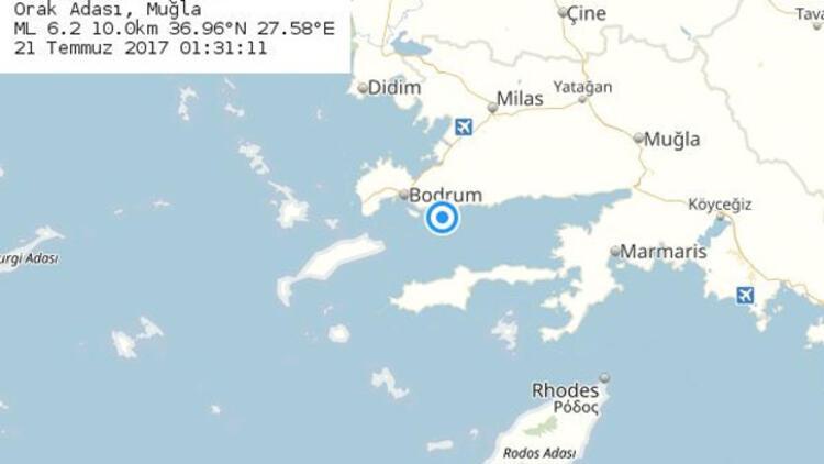 Muğla depreminin ardından önemli uyarı: İşte son depremler