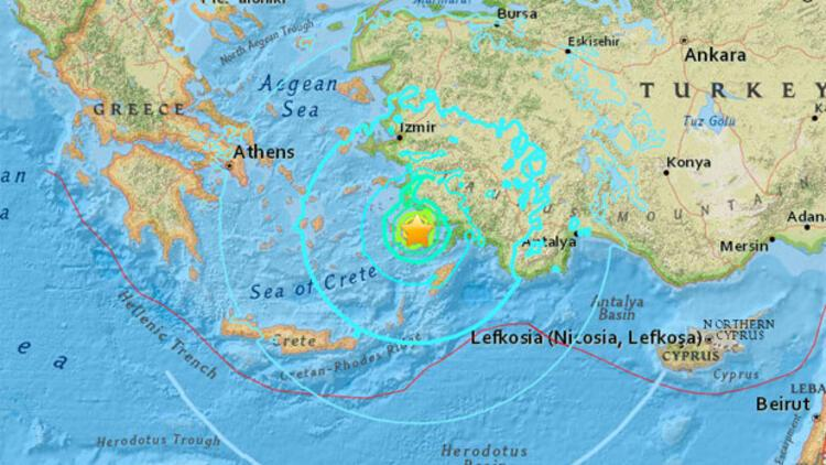 Son dakika: Egede korkutan deprem