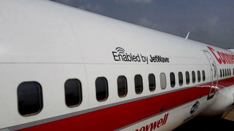 Havada jet hızında internet!
