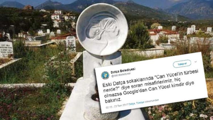 Datça Belediyesi'nin Can Yücel isyanı: 'Hiç olmazsa Google'a bakın'