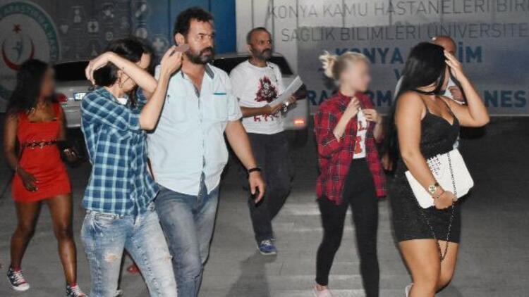 Konya'daki konsomatris operasyonunda Ugandalı kadın da gözaltına alındı