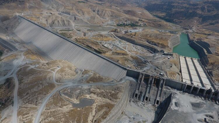 Ilısu Barajı'nın gövdesi tamamlandı