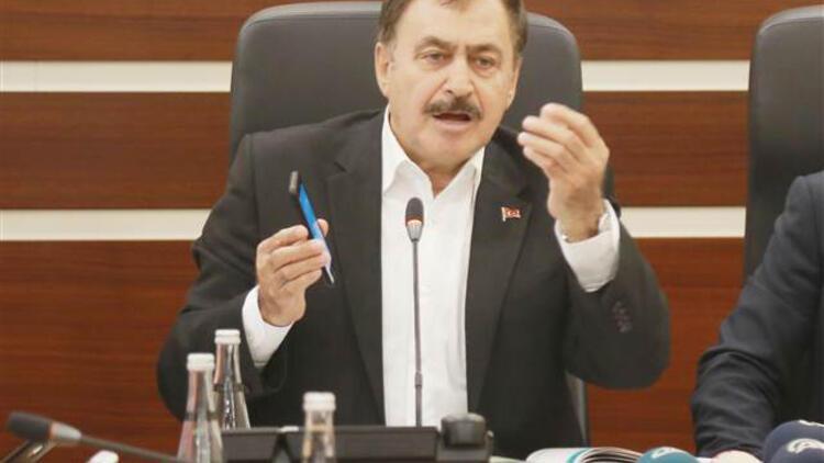 Bakan Eroğlu: Sıcak bölgeler içinde İstanbul yok