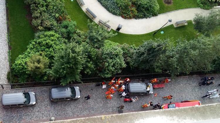 Fransa'yı şoke eden olay: Askerlere çarpıp kaçtı, yaralılar var