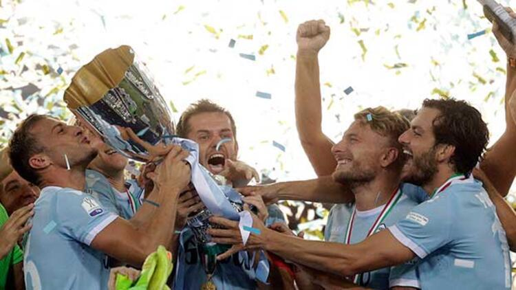 Lazio Juventus'u devirdi, Süper Kupa'yı kazandı