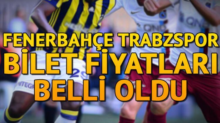 Fenerbahçe Trabzonspor maçı ne zaman saat kaçta? İşte bilet fiyatları