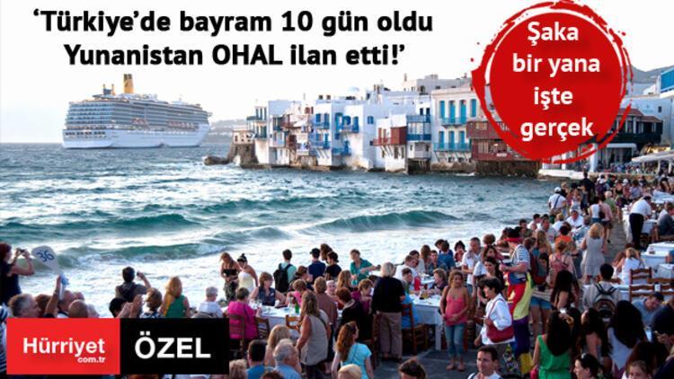 Yunanistan için 1 Türk 15 Avrupalı'ya bedel