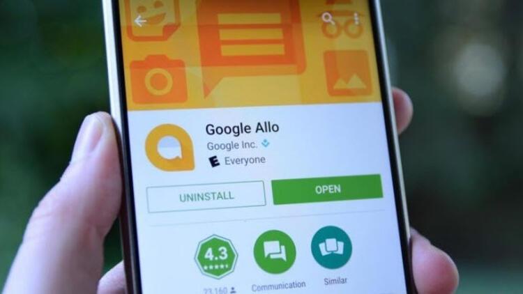 Google Allo artık tarayıcıda çalışacak!