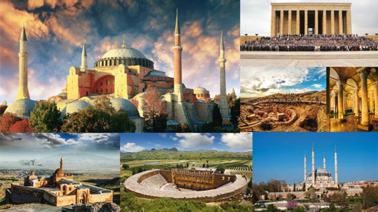 Türkiye'deki en iyi 100 mimari eser