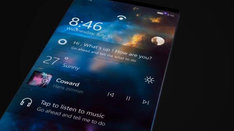 Microsoft'un yeni telefonu işte böyle olacak!