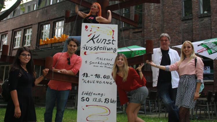 Dorsten'in yaratıcı kompleksinde 5 genç Türk