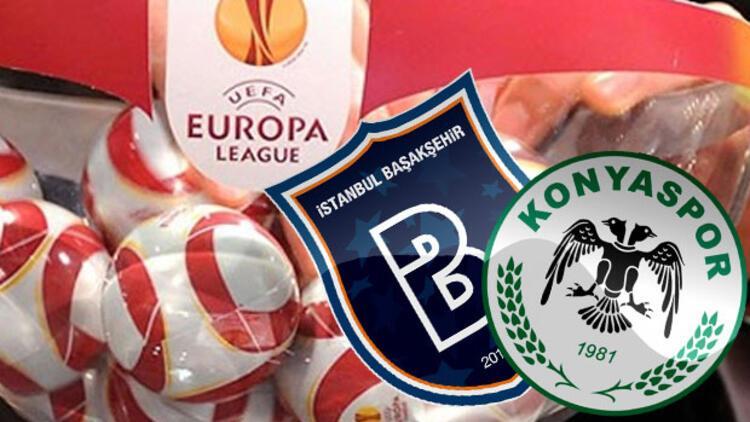 UEFA'da Başakşehir ve Konyaspor'un rakipleri belli oldu