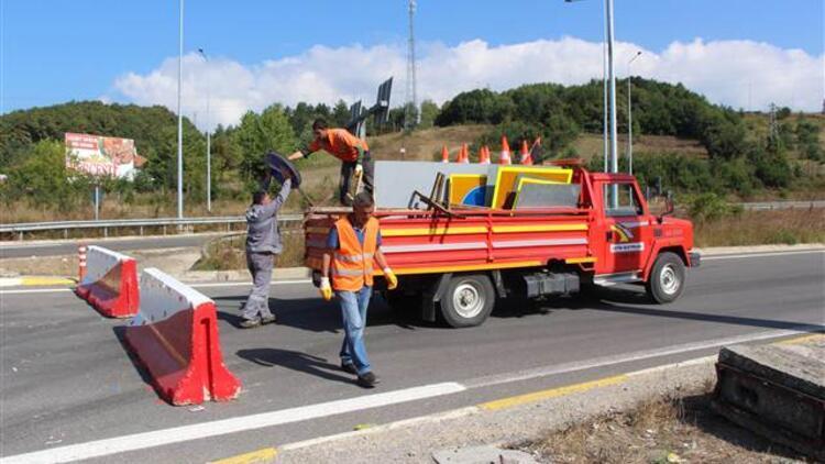 Bir aydır kapalı olan TEM'in Bolu geçişinin İstanbul yönü açıldı