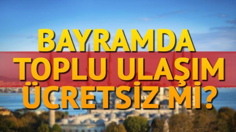 Kurban Bayramında vapurlar ve otobüsler ücretsiz mi olacak? İstanbul Büyükşehir Belediyesi açıkladı