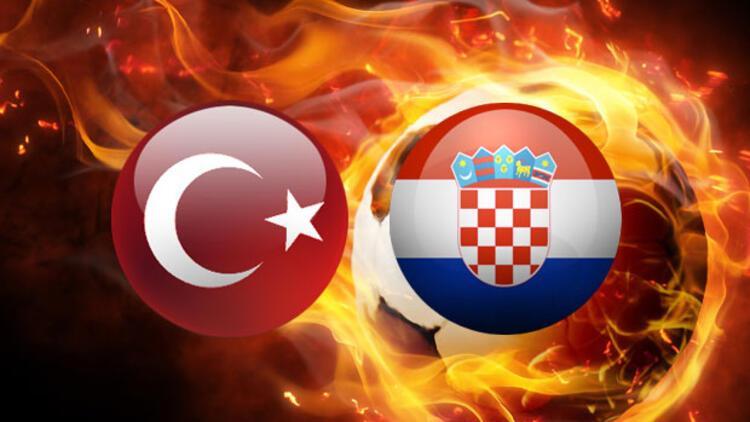 Gözler milli maçta.. Türkiye Hırvatistan maçı hangi kanalda canlı yayınlanacak, saat kaçta?
