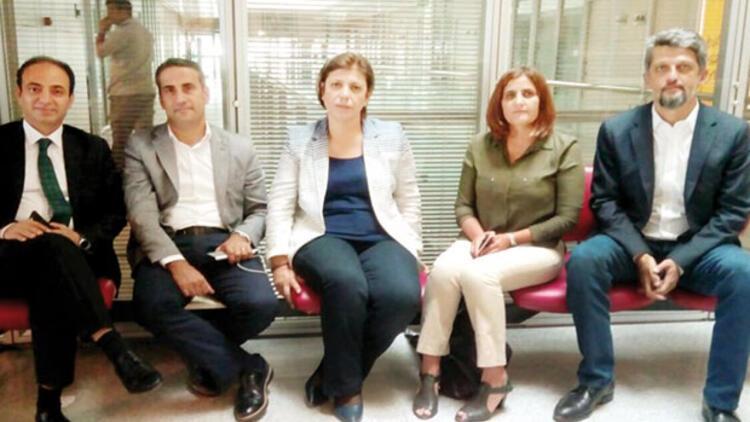HDP'den AYM'de adalet nöbeti
