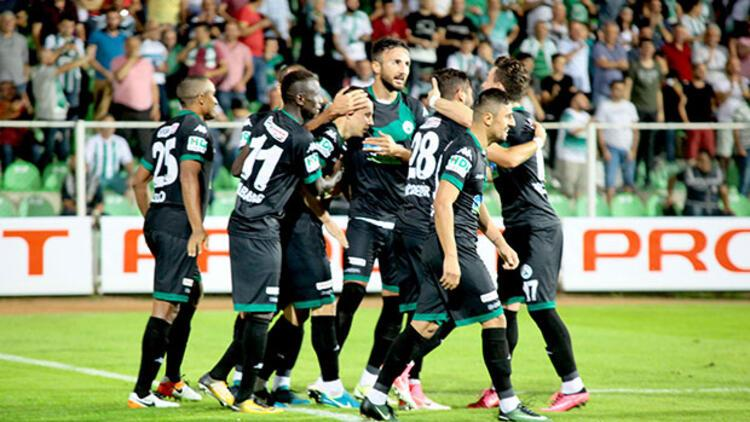 Giresunspor evinde Eskişehirspor'u rahat geçti