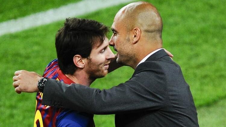 Guardialo'dan Messi için olay söz! Onun masasına...