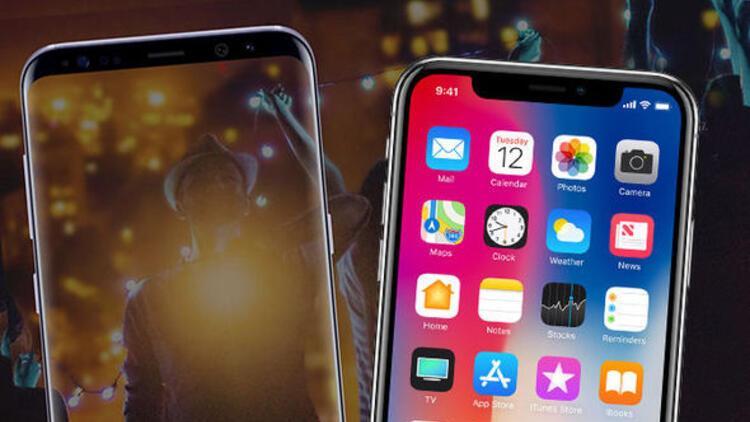 iPhone X'in ekranı Galaxy S8'den daha mı kötü?