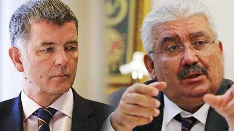 MHP ile İngiliz Büyükelçi Richard Moore arasında atışma