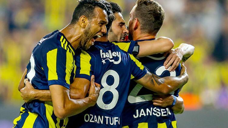 5 kırmızı kartın çıktığı derbiyi Fenerbahçe kazandı!