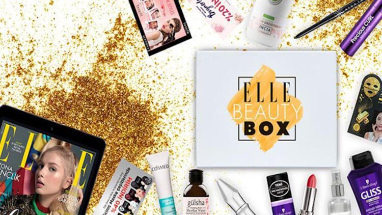 ELLE Beauty Box 2 çıktı!