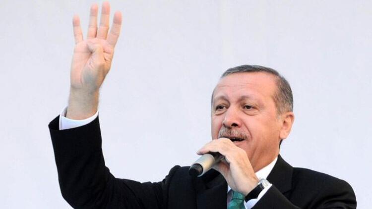 Erdoğan'ın eliyle Rabia tarifi