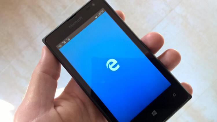 Microsoft Edge Android telefonlar için yayında