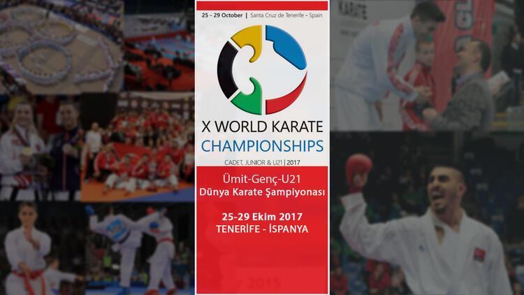 Karateciler dünya şampiyonasında madalya arayacak